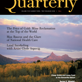 Landsnorkeling Featured in Montana Quarterly