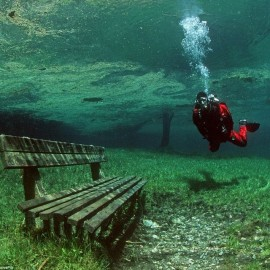 A park that is underwater…